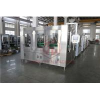 China 10000BPH Combi Glass Bottle Filling Machine Hot Fill Bottling Equipment With Return System wholesale