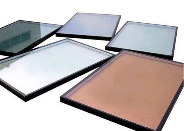 Quality High Precision Flatness Pink Reflective Float Glass For Construction / Decoration for sale