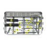 China Black / Dark Grey Orthopedic Surgery Instruments Duide Pin Φ1.0 X 150 Size wholesale