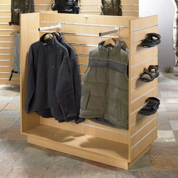 Used clothes racks for stores