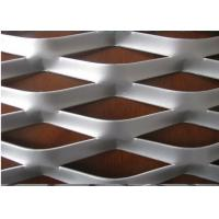 China 2.5MM*10*20 mm Hot Dipped Galvanized Expanded Metal Mesh / Aliminum Expanded Mesh wholesale