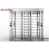 China Double Lane Security Controlled Turnstile Security Gates Rapid Identification wholesale