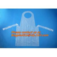 China pe disposable apron in kitchen household,chef disposable plastic aprons,Cheap price plastic disposable apron BAGEASE wholesale