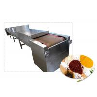China 40KW Microwave Food Sterilization Equipment For Tea / Seafood / Rice Drying wholesale