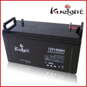China Deep cycle gel battery 12V 100Ah on sale