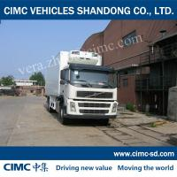 China VOLVO CHASSIS Thermo King Refrigerator and Insulated van box truck tow truck for sale on sale