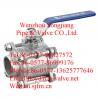 China butt weld ball valve wholesale
