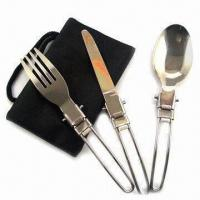 China Cutlery Set for Picnic, Made of Stainless Steel wholesale