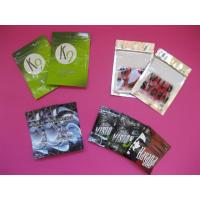 OEM Customized Herbal Incense Plastic Pouches Packaging with Zip Lock