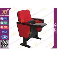 China Metal Frame Auditorium Church Hall Chairs Space Saving Size 890mm * 700mm * 580mm on sale