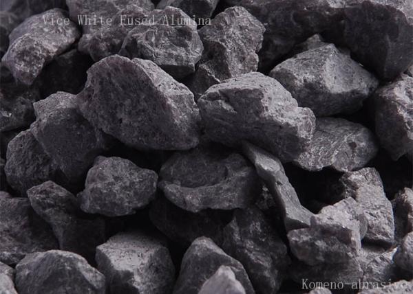 Quality Block Vice white fused alumina for refractory bricks high alumina refractory products for sale