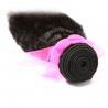 Cuticle virgin Brazilian hair weave ,kinky straight