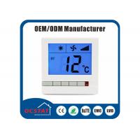 Buy cheap Household Room Heating fcu thermostat , Digital Air Conditioning Thermostat from wholesalers