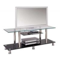 China high quality new black tempered glass tv stands xyts-005 wholesale