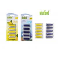 Home Small Eco - friendly  Plastic Air Freshener Vacuum Cleaner 5 Strips / Set
