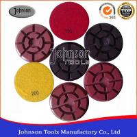 China SGS / GB Approved Concrete Diamond Polishing Pads For Coarse Surface wholesale