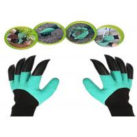 China Durable Thorn Proof Gardening Gloves , Protective Gardening Gloves With Claws wholesale