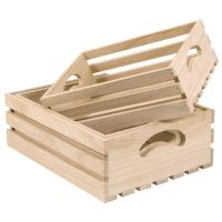 China wooden crate wholesale