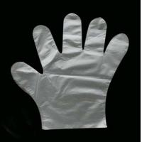 China 100% all new material medical LDPE/HDPE glove wholesale