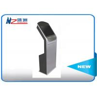 China Touch Screen Self Service Computer Kiosk , Hotel Lobby PC Stand LCD Digital Signal wholesale