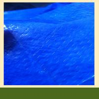 China Temporary housing material,high density polythene woven laminated fabric tarpauline on sale