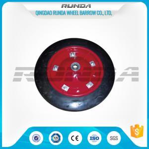 China Smart Balance Trolley Rubber WheelsSteel Rim Ball Bearing 13x3 Inch Multi Color wholesale