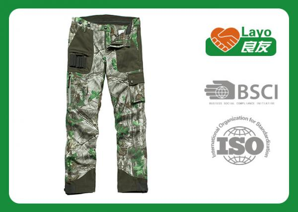 Quality Casual Multi - Pockets Hunting Camo Pants For Men Breathable for sale