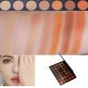 China Neutral Eye Makeup Eyeshadow High Pigment Autumn Orange Toned Eyeshadow Palette wholesale