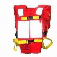 China Marine Life Jacket, Outside Made of Terylene Oxford Textile, Used in Life Saving for Seamen wholesale