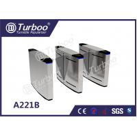 China LED Lamp Indication Flap Barrier Turnstile Access Control Security Systems wholesale