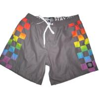 China Custom Sublimation Printing Board Shorts With Private Label wholesale