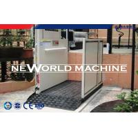 China Diverse Power 200kg Hydraulic Platform Lift / Wheelchair Lift For Disabled on sale