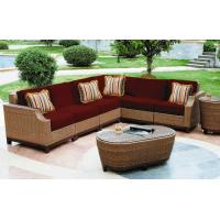 China 8pcs wicker outdoor furniture wholesale