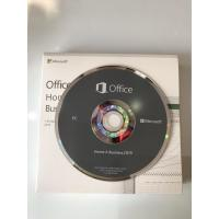China Microsoft Office 2019HB DVD Package Key Code Office Home and Business 2019 Lifetime Guarantee 100% Useful wholesale