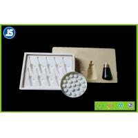 China Essence Oil Bottles Flocking Tray Eco-Friendly , Clamshell Packaging wholesale