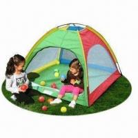 China Kid's Beach Tent with Single Layer, Measures 120 x 120cm wholesale