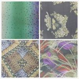 China New Arrival Digital Inkjet Printing Silk Crinkle Crepe Fabric wholesale
