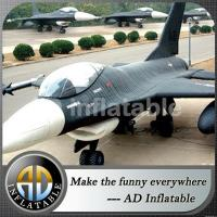 China Best selling inflatable fighter aircraft model on sale