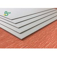 China Uncoated Laminated Grey Board 1.0mm - 3.0mm Thickness Grey Carton Paper For Packing Box wholesale