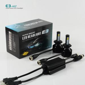 China E3 H7 40W 4500LM 3000k 6000k car led headlight kit--from BAOBAO LIGHTING on sale