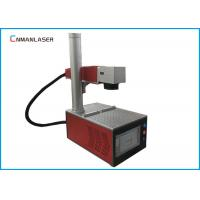China Glasses Frame Metal Fiber Laser Marking Machine 20w Alloy Working Table Easy Focus wholesale