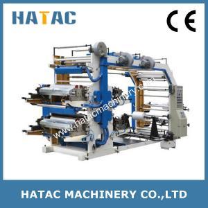 China 4-color Plastic Film Printing Press Machine,Adhesive Label Printing Machine,Bond Paper Printing Machine wholesale