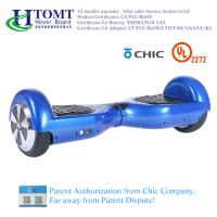 China 2 Wheel Self Balance Scooter Hoverboard With 6.5 Inch Wheel Bluetooth Speaker with Chic License wholesale