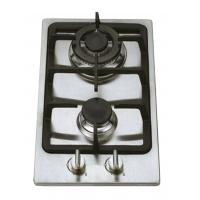 China Stainless Steel 2 Burner Gas Hob Wind Proof , Double Burner Gas Cooker wholesale