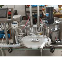 China PLC Control High Speed E Liquid Filling Capping Machine Bottling Feeding Equipment wholesale