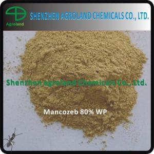 China Mancozeb 90% TC 85% / 80% WP Fungicides for Plants 8018-01-7 wholesale