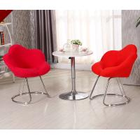 China Commercial Modern Metal Chairs , Antique Upholstered Dining Chairs With Metal Legs wholesale