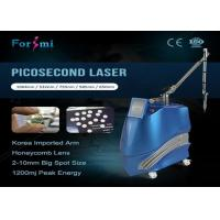 China advanced technology hospital used for tattoo removal pulse width 600 ps picosecond laser for sale wholesale