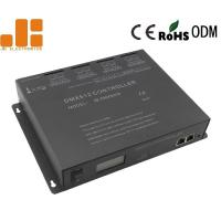 Cascaded Available DMX512 Master Controller With 4096 Channels Program Online Control