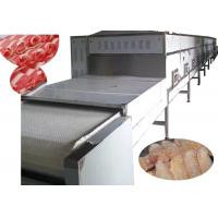 China 100KW Industrial Meat Thawing Machine , Microwave Quick Defrost Machine wholesale